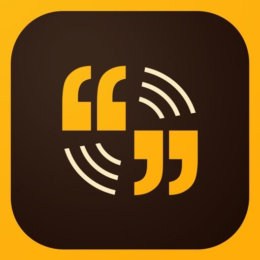 Adobe Voice ‐ ストーリーを表現してください。