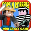 JAIL CRAFT COPS N ROBBERS: Survival Block Hunter Mini Game with Multiplayer