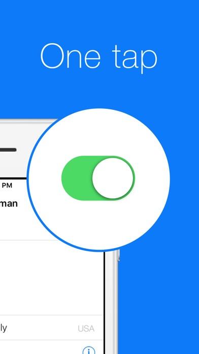 Hideman VPNのスクリーンショット2