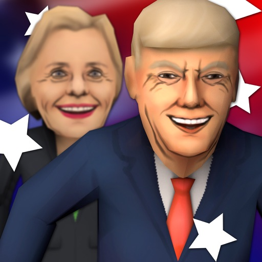 Hilarious Election Run 2016 - With Donald Trump iOS App