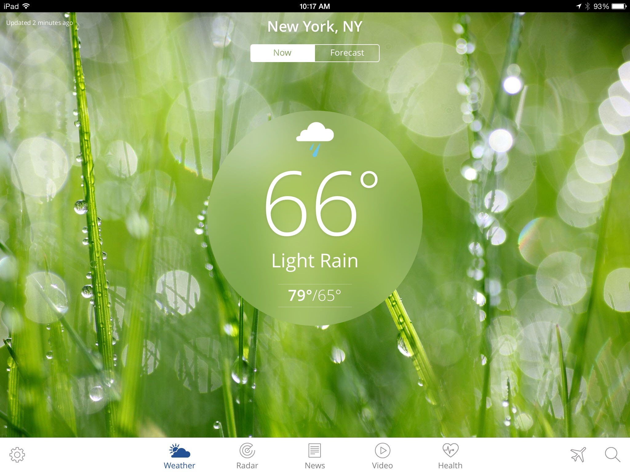The Weather Channel App for iPad best local forecast radar map – Weather Channel Travel Map