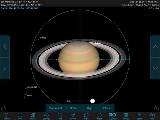 Screenshot #3 for SkySafari 5 Plus