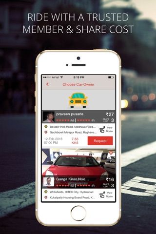Zify - Instant Carpooling screenshot 2