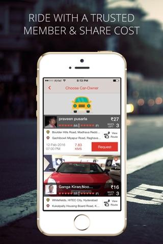 Zify - Instant Carpooling screenshot 2