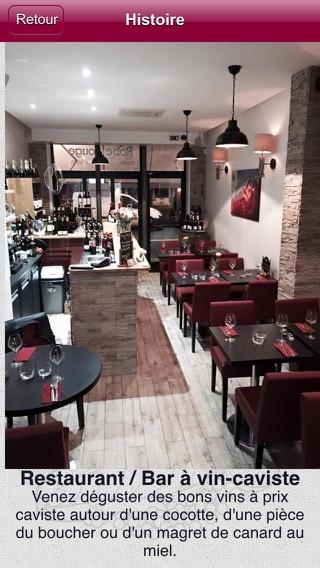 Restaurant la robe rouge paris