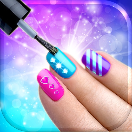 Nail art makeover design virtual manicure salon game for A list nail salon game