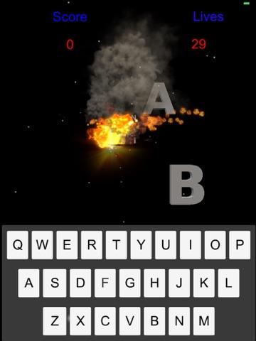 Alphabet Bomber Screenshot