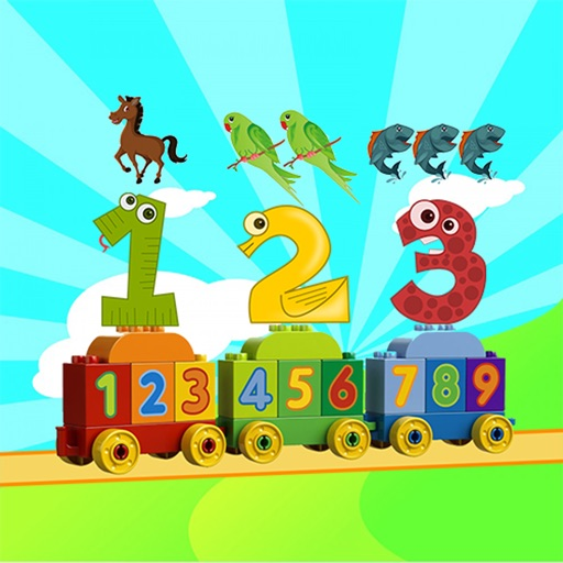 Toddler counting 123 - Touch the object To Start count for Preschool and kindergarten iOS App