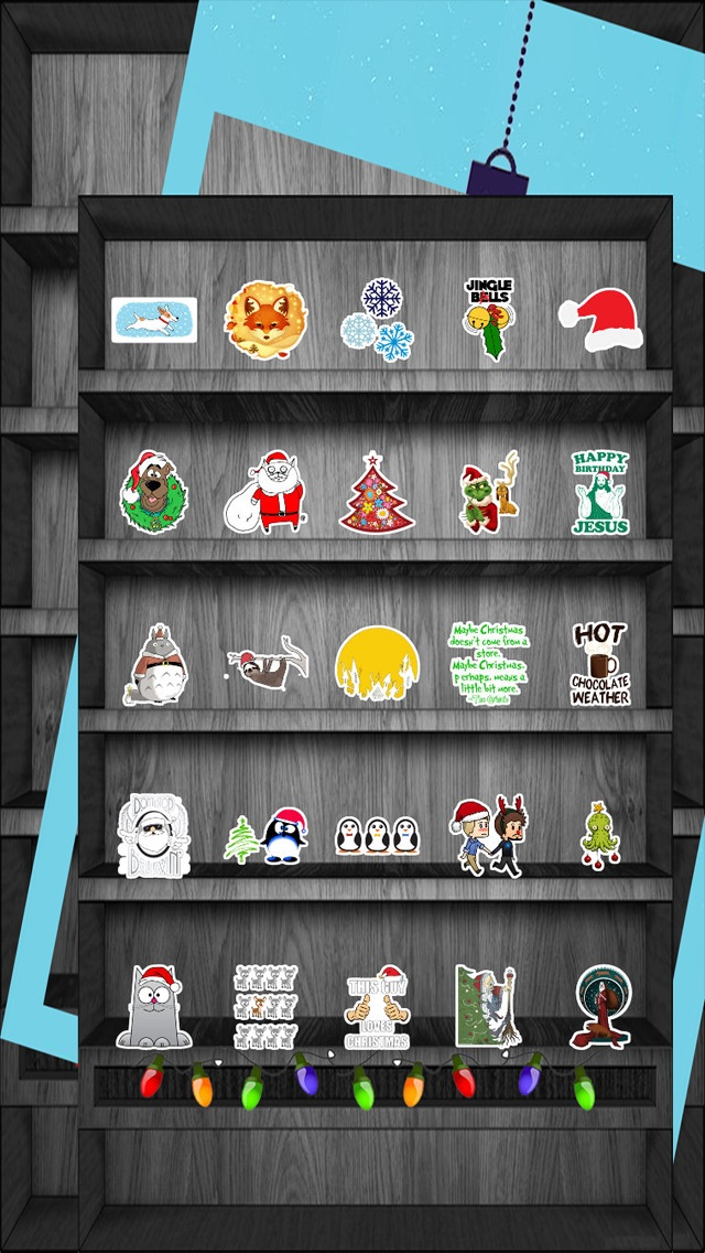 download Christmas & Winter Holiday Stickers Free apps 0