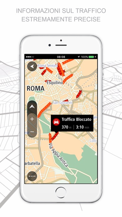 TomTom GO Mobile Screenshot
