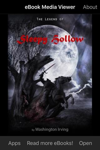 eBook: The Legend of Sleepy Hollow screenshot 1