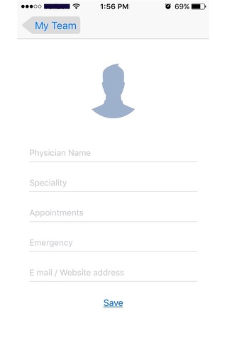 My team - Connect to Your Healthcare Providers screenshot 1
