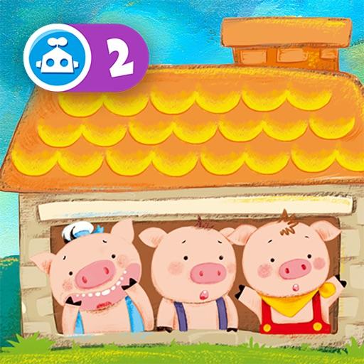 三只小猪:有声动画书-Tinmanarts