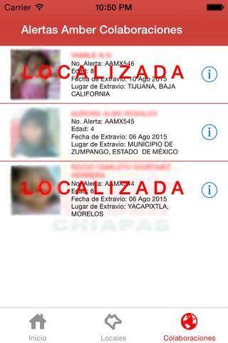 Alerta AMBER Chiapas screenshot 3