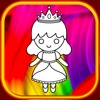 bedtime stories coloring book princess show for kid