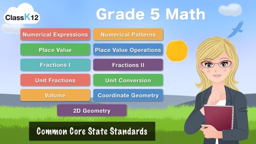 Grade 5 Math Common Core Learning Worksheets Game on the App Store – Common Core Grade 5 Math Worksheets