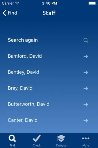 Huddersfield UniApp screenshot 2