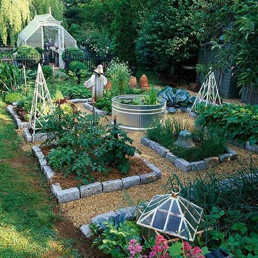 Дизайн сада и огорода с описанием