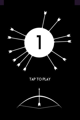 Twisty Arrow - Shoot the Circle Wheel screenshot 1