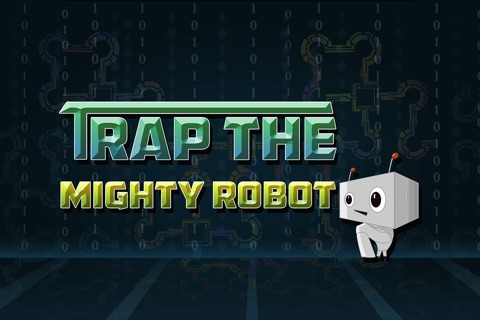 Trap The Mighty Robot Pro - top brain train puzzle game screenshot 1