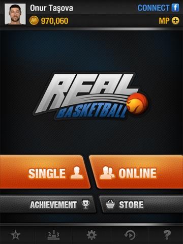 Screenshots of Real Basketball for iPad