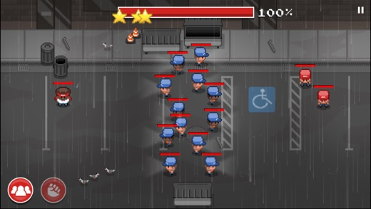 Defend Your Turf: Arcade Street Fight Screenshot