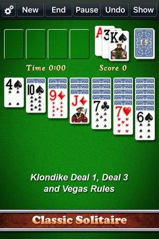 Solitaire City Classic screenshot 1