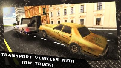 Screenshot von Autounfall-Abschleppwagen-3D-Treiber Spiel3