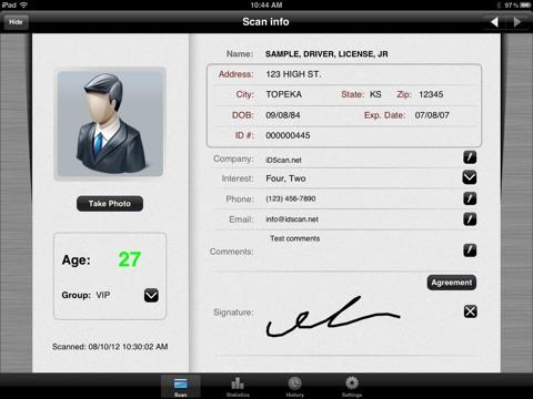 VeriScan Pro screenshot 2
