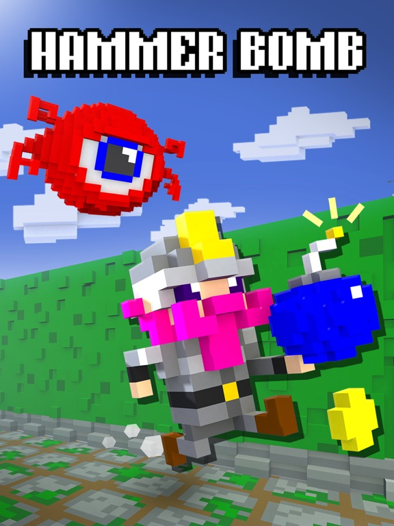 Hammer Bomb на iPad