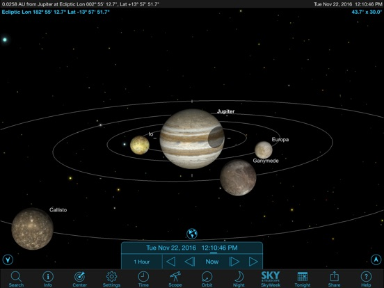 Screenshot #5 for SkySafari 5 Plus