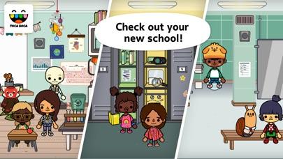 Screenshots of Toca Life: School for iPhone