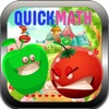Quick Math Practice Fruits War- Mental arithmetic and Number crunching game