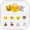 Emoji Keyboard - Extra Emojis Smiley Icons & Animated Emoticon Art Fonts Texting,  Themes with Color,  Fonts & Emoji Emoticons,  Keyboard for iPhone,  iPad and Free Stickers Pictures,  Text Messages Apps