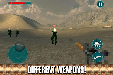 Army Commando Shooter 3D Full screenshot 3