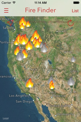 Fire Finder - Wildfire Info, Images and More screenshot 3