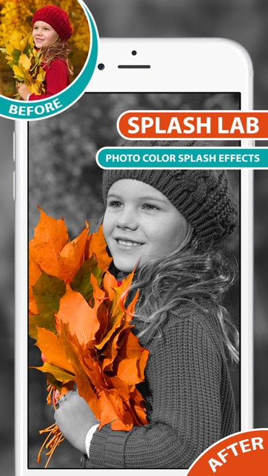 Color Splash Effects With Recolor, Black & White Screenshot