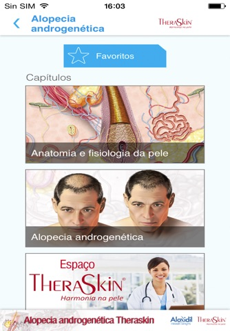 Atlas de Alopecia androgenética Theraskin screenshot 1