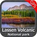 Lassen Volcanic National Park - Topo icon