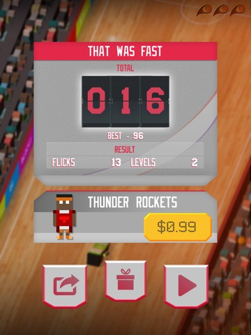 Blocky Basketball - Endless Arcade Dunks and Slam Madness 2016 Edition Screenshot