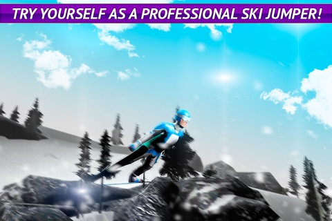 Ski Jumping Freestyle 3D Full screenshot 1