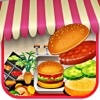 Kochen Burger Restaurant 2 - Food-Hamburger Maker Spiele für Mädchen und Jungen