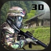 SWAT Police Sniper tireur vs Berg Mercenary Armee 3D