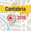 坎塔布里亚 離線地圖導航和指南