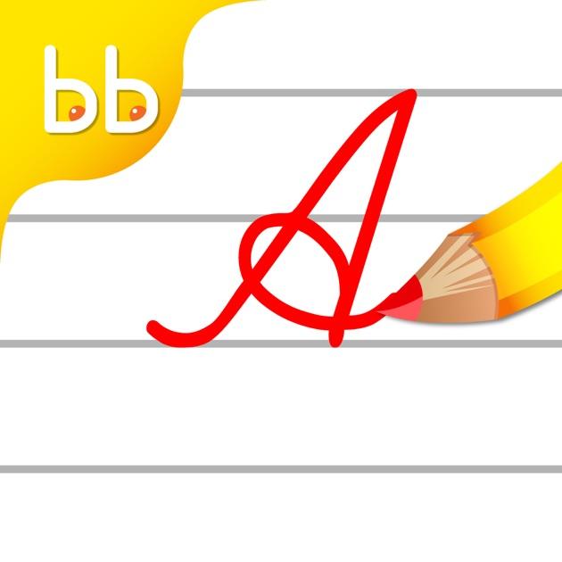 Letter Layers helps children aged 3–8 develop cursive handwriting skills