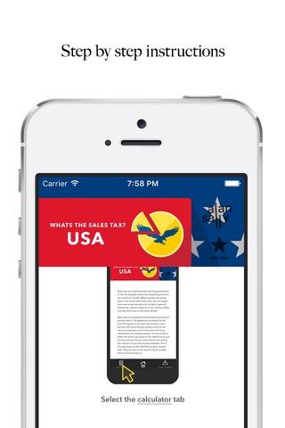 Whats the Sales Tax? USA LITE screenshot 4