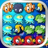 Ocean Splash - 3 Matching Puzzle Game Set Under the Sea