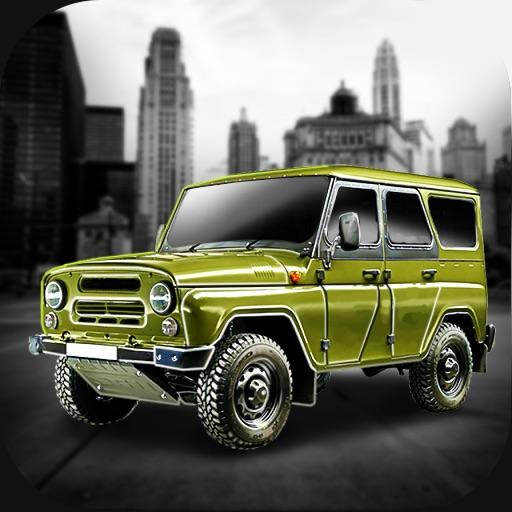 Симулятор Вождение УАЗ Авто 3D