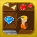 Treasure Miner - Explore a deep 2d gold mine in this mega digging ...