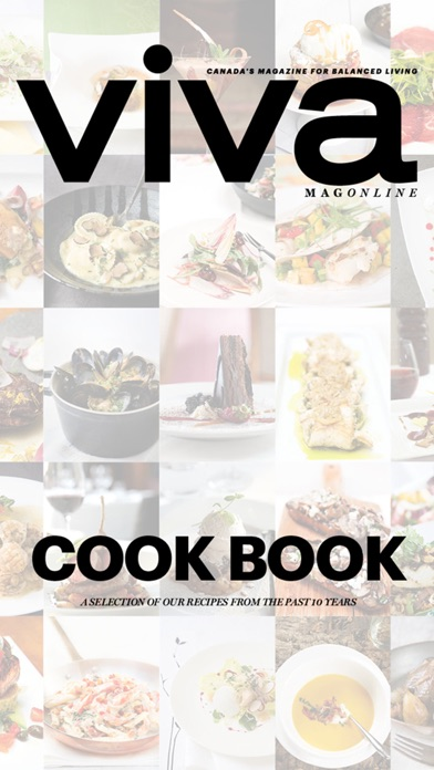 Viva Cook Book review screenshots